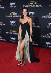 "HOLLYWOOD, CA - OCTOBER 10: Dancer Lexy Panterra at The World Premiere of Marvel Studios' ""Thor: Ragnarok"" at the El Capitan Theatre on October 10, 2017 in Hollywood, California. (Photo by Rich Polk/Getty Images for Disney) *** Local Caption *** Lexy Panterra"