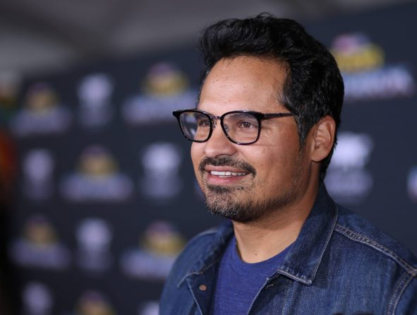 "HOLLYWOOD, CA - OCTOBER 10: Actor Michael Pena at The World Premiere of Marvel Studios' ""Thor: Ragnarok"" at the El Capitan Theatre on October 10, 2017 in Hollywood, California. (Photo by Rich Polk/Getty Images for Disney) *** Local Caption *** Michael Pena"