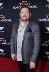 "HOLLYWOOD, CA - OCTOBER 10: Writer Christopher Yost at The World Premiere of Marvel Studios' ""Thor: Ragnarok"" at the El Capitan Theatre on October 10, 2017 in Hollywood, California. (Photo by Rich Polk/Getty Images for Disney) *** Local Caption *** Christopher Yost"