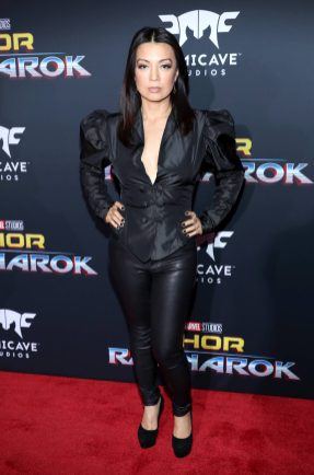 "HOLLYWOOD, CA - OCTOBER 10: Actor Ming-Na Wen at The World Premiere of Marvel Studios' ""Thor: Ragnarok"" at the El Capitan Theatre on October 10, 2017 in Hollywood, California. (Photo by Rich Polk/Getty Images for Disney) *** Local Caption *** Ming-Na Wen"
