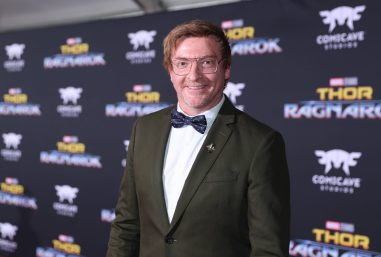 "HOLLYWOOD, CA - OCTOBER 10: Rhys Darby at The World Premiere of Marvel Studios' ""Thor: Ragnarok"" at the El Capitan Theatre on October 10, 2017 in Hollywood, California. (Photo by Rich Polk/Getty Images for Disney) *** Local Caption *** Rhys Darby"