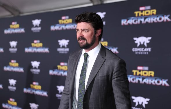 """HOLLYWOOD, CA - OCTOBER 10: Actor Karl Urban at The World Premiere of Marvel Studios' """"Thor: Ragnarok"""" at the El Capitan Theatre on October 10, 2017 in Hollywood, California. (Photo by Rich Polk/Getty Images for Disney) *** Local Caption *** Karl Urban"""