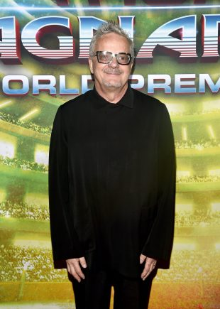 "HOLLYWOOD, CA - OCTOBER 10: Composer Mark Mothersbaugh at The World Premiere of Marvel Studios' ""Thor: Ragnarok"" at the El Capitan Theatre on October 10, 2017 in Hollywood, California. (Photo by Alberto E. Rodriguez/Getty Images for Disney) *** Local Caption *** Mark Mothersbaugh"