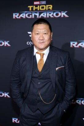 """HOLLYWOOD, CA - OCTOBER 10: Actor Benedict Wong at The World Premiere of Marvel Studios' """"Thor: Ragnarok"""" at the El Capitan Theatre on October 10, 2017 in Hollywood, California. (Photo by Rich Polk/Getty Images for Disney) *** Local Caption *** Benedict Wong"""