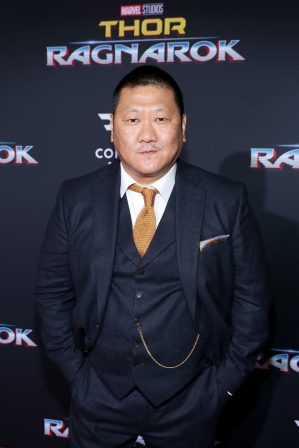 "HOLLYWOOD, CA - OCTOBER 10: Actor Benedict Wong at The World Premiere of Marvel Studios' ""Thor: Ragnarok"" at the El Capitan Theatre on October 10, 2017 in Hollywood, California. (Photo by Rich Polk/Getty Images for Disney) *** Local Caption *** Benedict Wong"