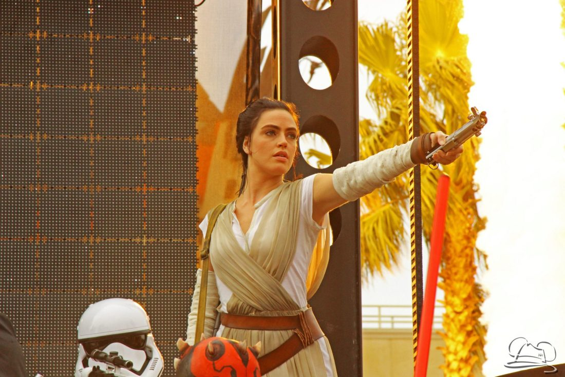 Rey in Star Wars: A Galaxy Far, Far Away!