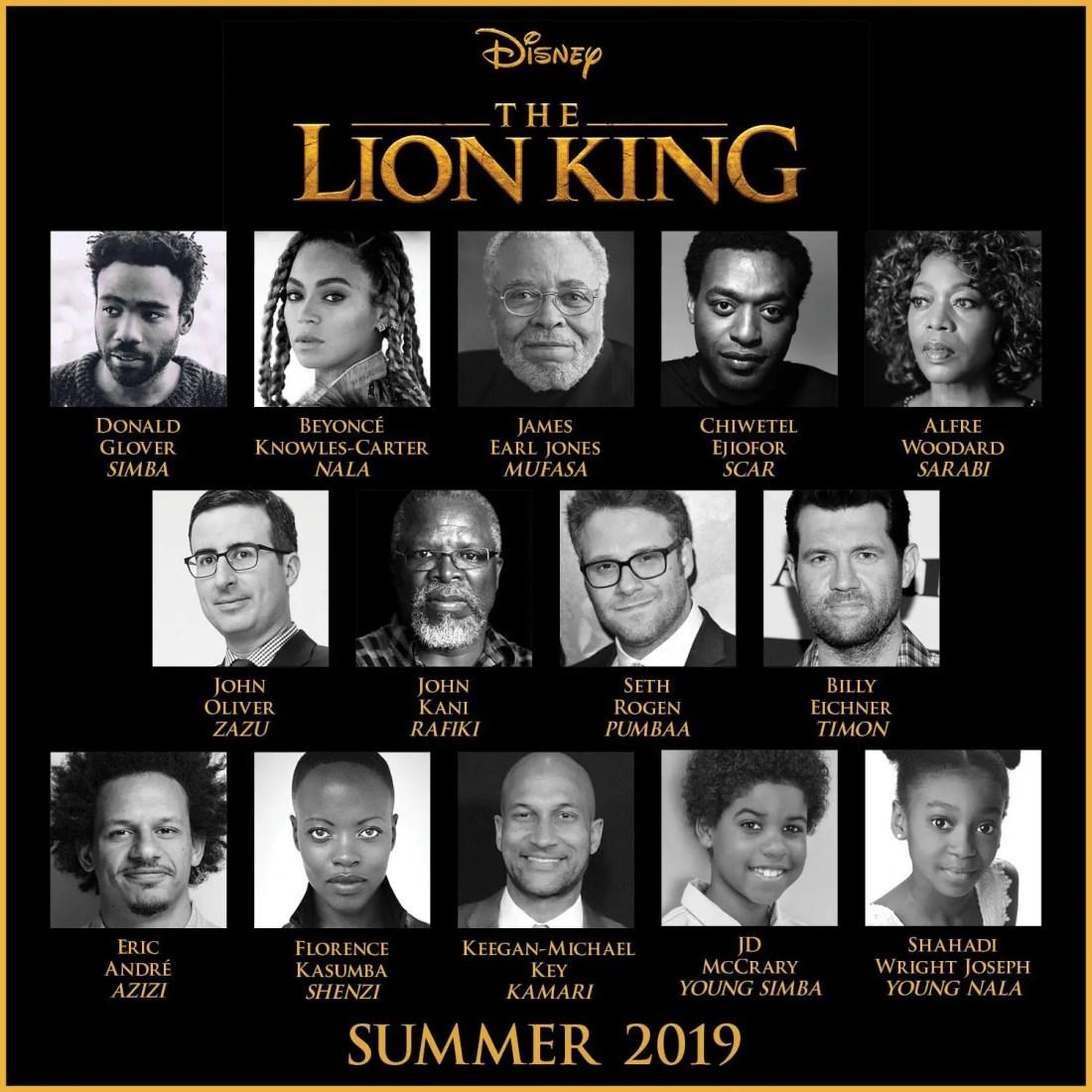 Disney's The Lion King Cast