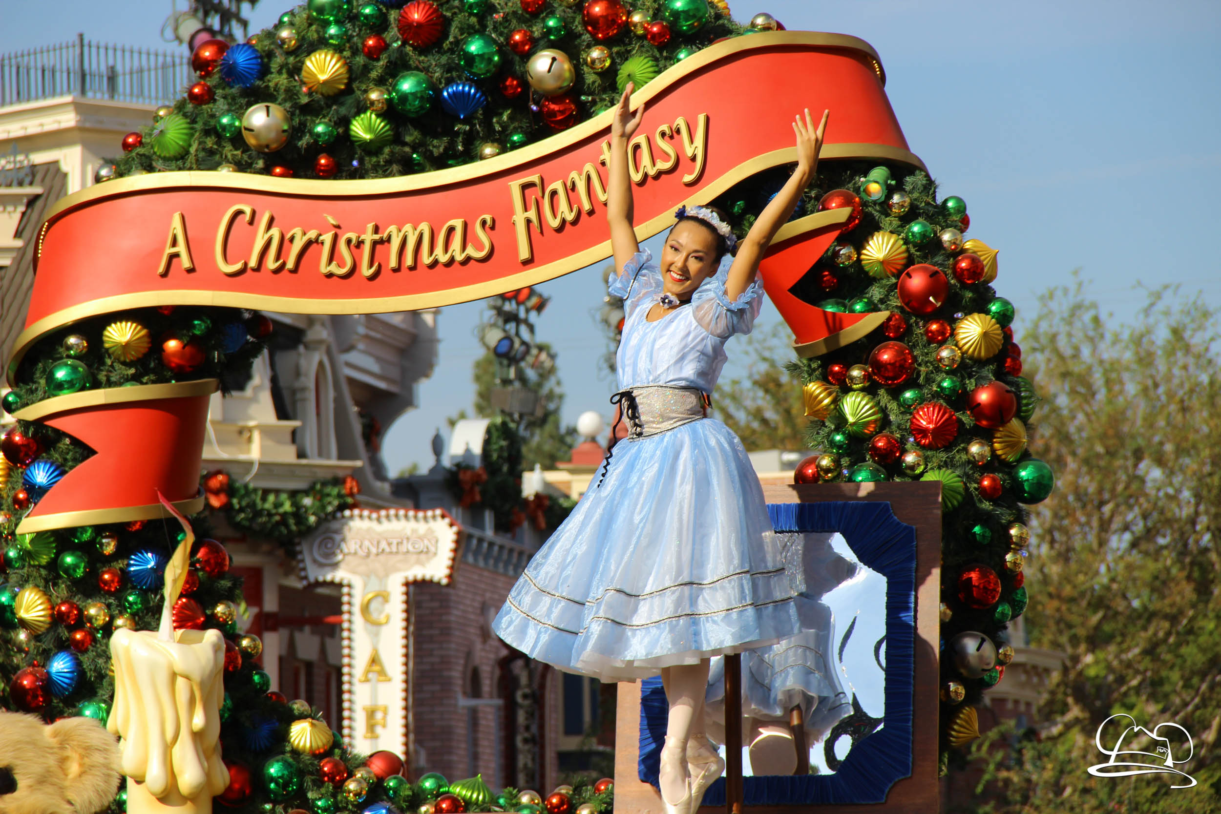 a christmas fantasy parade holiday time at the disneyland reso