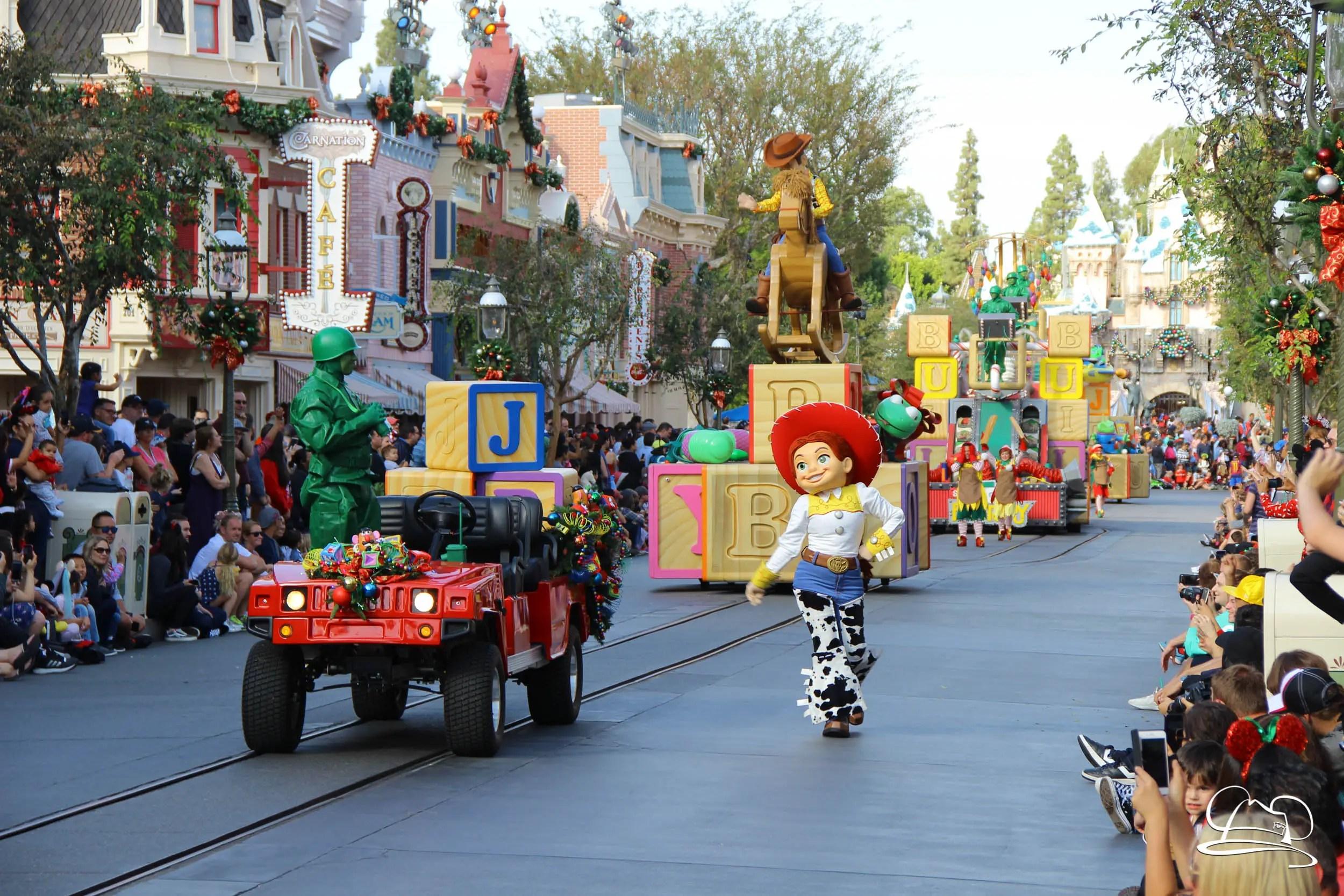 a christmas fantasy parade holiday time at the disneyland reso