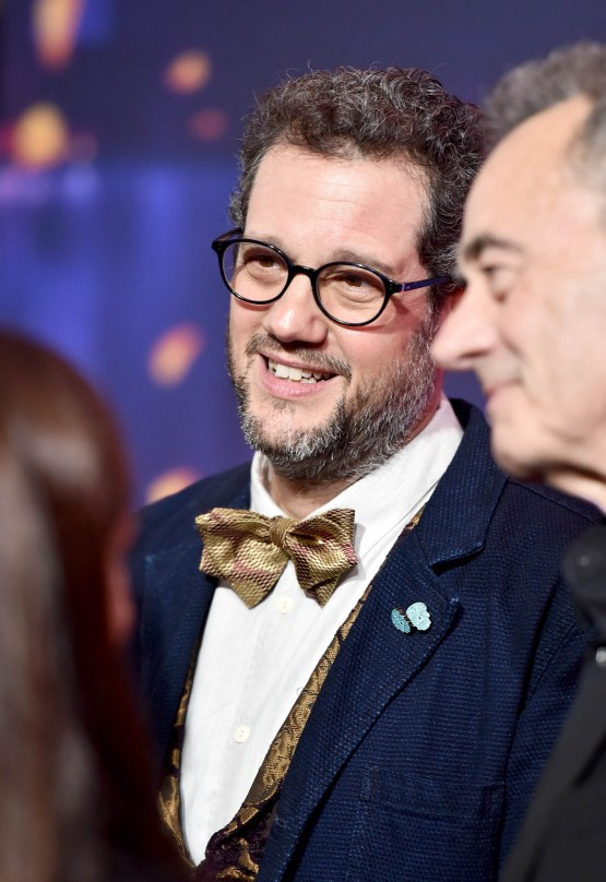 "HOLLYWOOD, CA - NOVEMBER 08: Composer Michael Giacchino at the U.S. Premiere of Disney-Pixarís ""Coco"" at the El Capitan Theatre on November 8, 2017, in Hollywood, California. (Photo by Alberto E. Rodriguez/Getty Images for Disney) *** Local Caption *** Michael Giacchino"