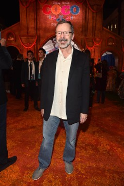 """HOLLYWOOD, CA - NOVEMBER 08: President of Pixar Animation Studios Edwin Catmull at the U.S. Premiere of Disney-Pixarís """"Coco"""" at the El Capitan Theatre on November 8, 2017, in Hollywood, California. (Photo by Alberto E. Rodriguez/Getty Images for Disney) *** Local Caption *** Edwin Catmull"""