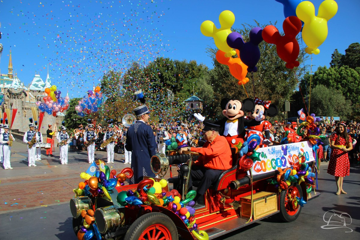 Disneyland Gives Mickey Mouse a Birthday Surprise