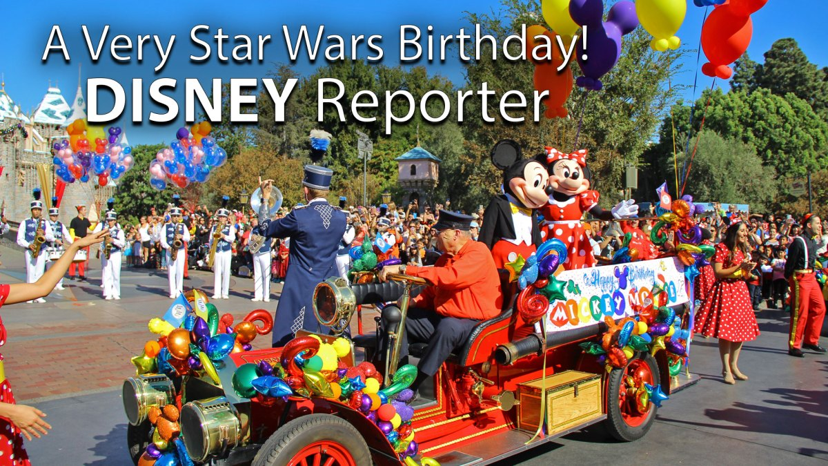 A Very Star Wars Birthday! - DISNEY Reporter