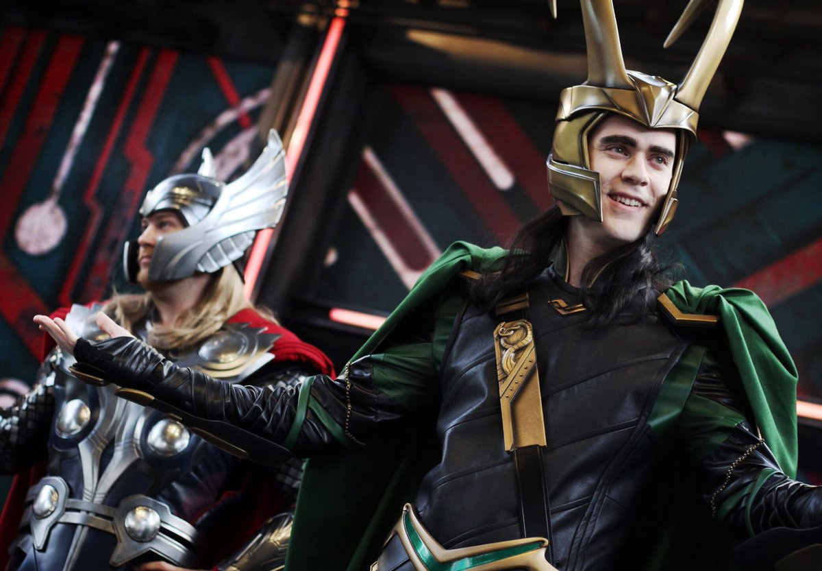 Thor and Loki Come to Disney California Adventure