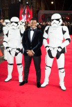 LONDON, UK DECEMBER 12: John Boyega attends the European Premiere of Star Wars: The Last Jedi in the presence of HRH Duke of Cambridge and HRH Prince Harry at the Royal Albert Hall in London, UK on Tuesday 12th December 2017. *** Local Caption *** John Boyega