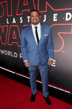 LOS ANGELES, CA - DECEMBER 09: Cedric Yarbrough at Star Wars: The Last Jedi Premiere at The Shrine Auditorium on December 9, 2017 in Los Angeles, California. (Photo by Rich Polk/Getty Images for Disney) *** Local Caption *** Cedric Yarbrough