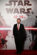 TOKYO, JAPAN - DECEMBER 06: Director Rian Johnson attends the 'Star Wars: The Last Jedi' Japan Premiere & Red Carpet at Roppongi Hills on December 6, 2017 in Tokyo, Japan. (Photo by Christopher Jue/Getty Images for Disney) *** Local Caption *** Rian Johnson