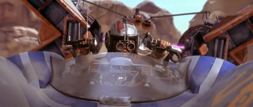 Anakin Podracing - Star Wars: The Phantom Menace
