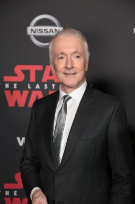 Anthony Daniels poses on the red carpet for the world premiere of LucasfilmÕs Star Wars: The Last Jedi at the Shrine Auditorium in Los Angeles, December 9, 2017..(Photo: Alex J. Berliner / ABImages ).