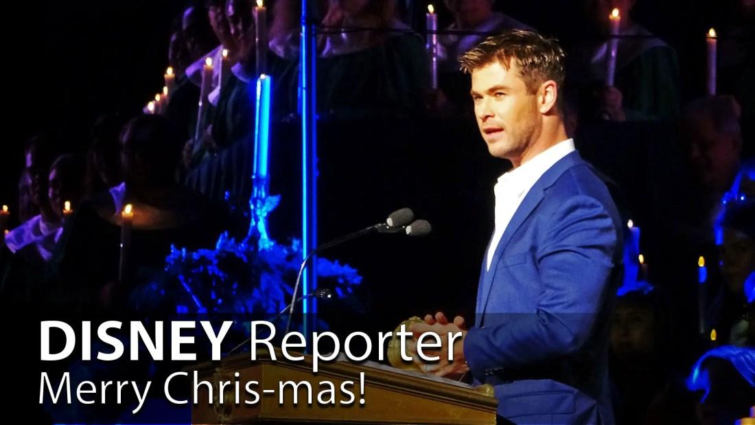 Merry Chris-mas! - DISNEY Reporter