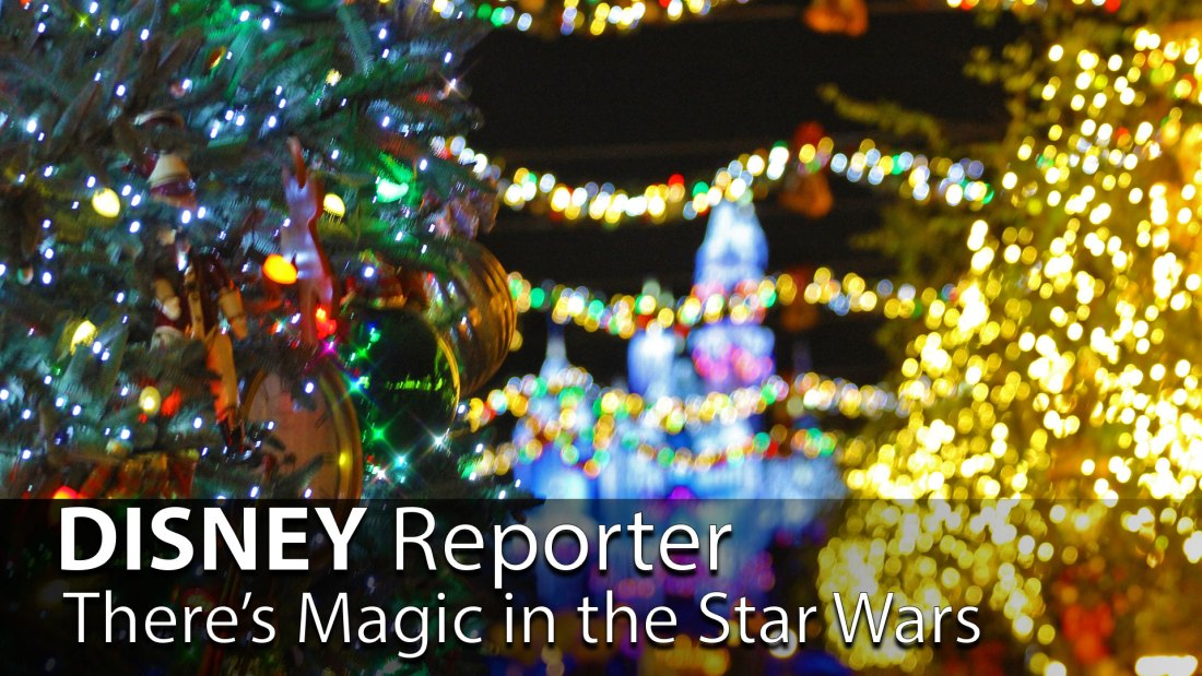 There's Magic in the Star Wars - DISNEY Reporter