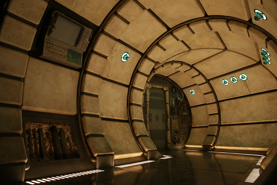 Millennium Falcon - Star Wars: Galaxy's Edge