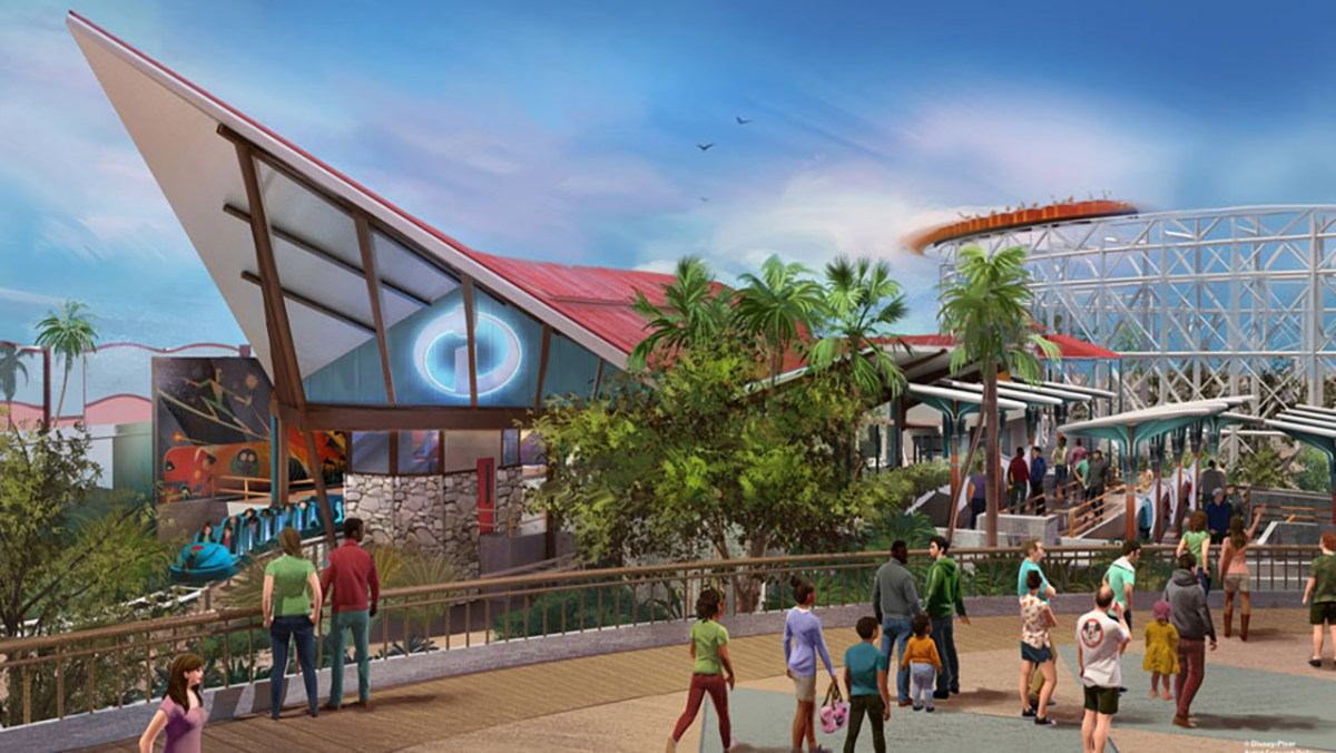 "An Inside Peek at the New ""Incredicoaster"" Coming to Disney California Adventure in 2018"