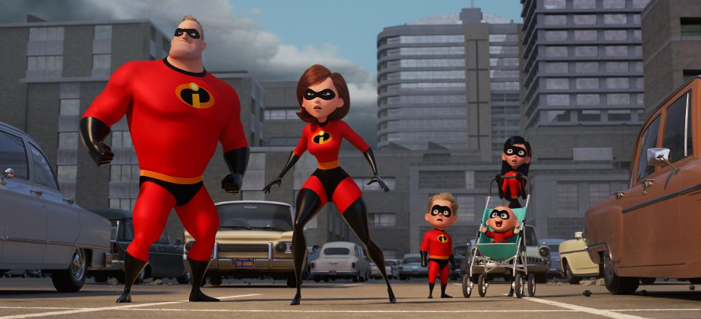 Disney Reveals First Look at The Incredibles 2!