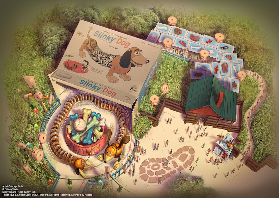 Slinky Dog Spin - Toy Story Land - Shanghai Disney