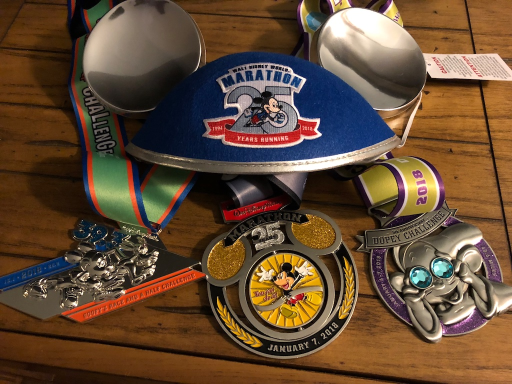 What's It Like to Run the Dopey Challenge? – runDisney Resolutions