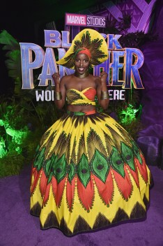 HOLLYWOOD, CA - JANUARY 29: Actor Janeshia Adams-Ginyard at the Los Angeles World Premiere of Marvel Studios' BLACK PANTHER at Dolby Theatre on January 29, 2018 in Hollywood, California. (Photo by Alberto E. Rodriguez/Getty Images for Disney) *** Local Caption *** Janeshia Adams-Ginyard