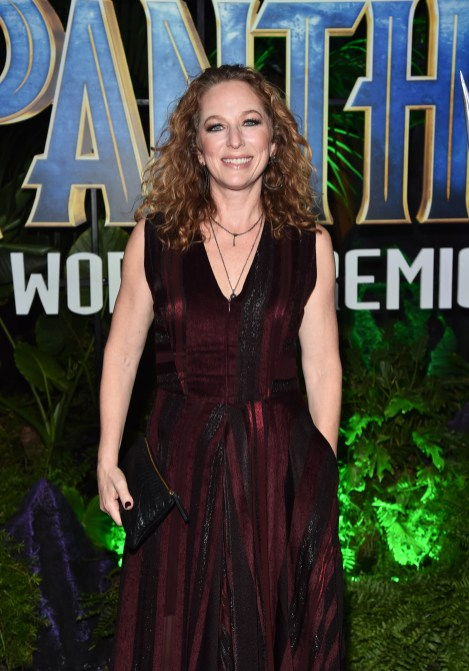 HOLLYWOOD, CA - JANUARY 29: Casting director Sarah Finn at the Los Angeles World Premiere of Marvel Studios' BLACK PANTHER at Dolby Theatre on January 29, 2018 in Hollywood, California. (Photo by Alberto E. Rodriguez/Getty Images for Disney) *** Local Caption *** Sarah Finn