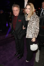 HOLLYWOOD, CA - JANUARY 29: Singer Frankie Valli (L) and Jackie Jacobs at the Los Angeles World Premiere of Marvel Studios' BLACK PANTHER at Dolby Theatre on January 29, 2018 in Hollywood, California. (Photo by Rich Polk/Getty Images for Disney) *** Local Caption *** Frankie Valli; Jackie Jacobs