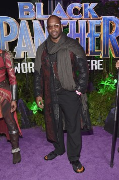 HOLLYWOOD, CA - JANUARY 29: Artist Chaz Guest at the Los Angeles World Premiere of Marvel Studios' BLACK PANTHER at Dolby Theatre on January 29, 2018 in Hollywood, California. (Photo by Alberto E. Rodriguez/Getty Images for Disney) *** Local Caption *** Chaz Guest