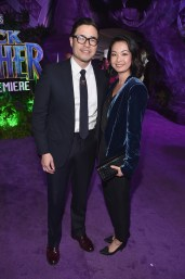HOLLYWOOD, CA - JANUARY 29: Actor Randall Park and Jae Suh Park at the Los Angeles World Premiere of Marvel Studios' BLACK PANTHER at Dolby Theatre on January 29, 2018 in Hollywood, California. (Photo by Alberto E. Rodriguez/Getty Images for Disney) *** Local Caption *** Randall Park; Jae Suh Park