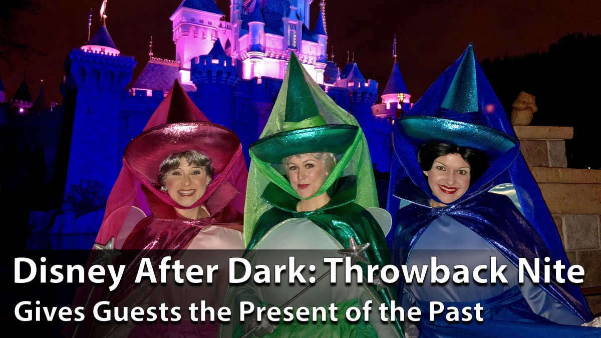 Disney After Dark: Throwback Nite Gives Guests the Present of the Past