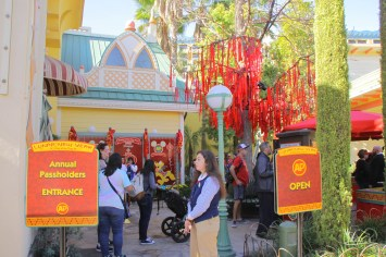 Annual Passholder Photo Opportunity at Lunar New Year Festival - Disney California Adventure