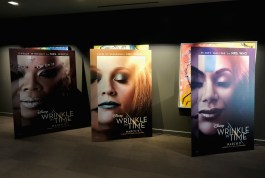 HOLLYWOOD, CA - FEBRUARY 25: A view of the atmosphere during the press conference for Disney's 'A Wrinkle in Time' in Hollywood, CA on March 25, 2018 (Photo by Alberto E. Rodriguez/Getty Images for Disney)