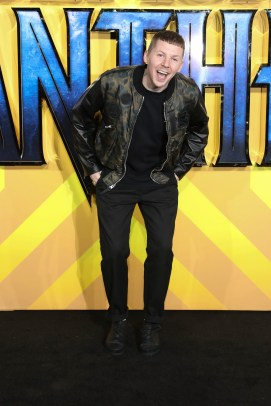 "LONDON, ENGLAND - FEBRUARY 08: Professor Green attends the European Premiere of Marvel Studios' ""Black Panther"" at the Eventim Apollo, Hammersmith on February 8, 2018 in London, England. (Photo by Gareth Cattermole/Getty Images for Disney)"