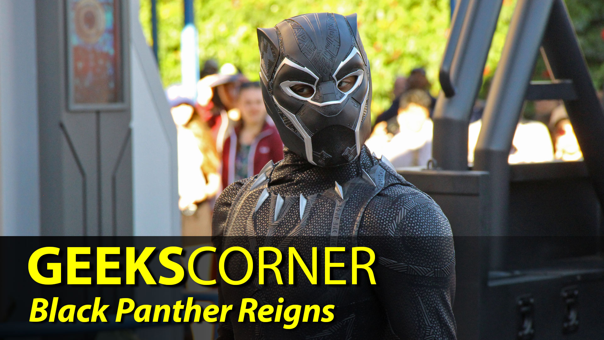 Black Panther Reigns – GEEKS CORNER – Episode 821
