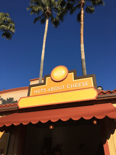 Nuts About Cheese Booth - 2018 Disney California Adventure Food and Wine Festival