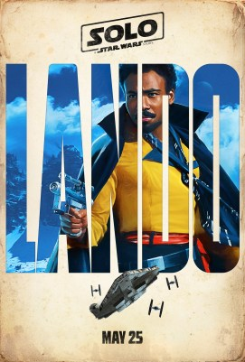 Solo: A Star Wars Story - Character Poster - Lando