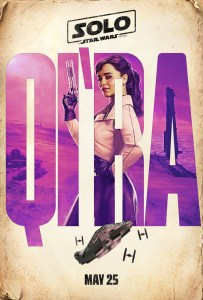 Solo: A Star Wars Story - Character Poster - Qira