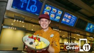 Mobile Order for My Disney Experience App