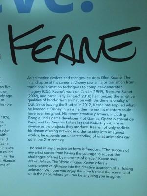 Make Believe: The World of Glen Keane - The Walt Disney Family Museum