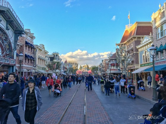 Walls Come Down on Main Street at Disneyland-1