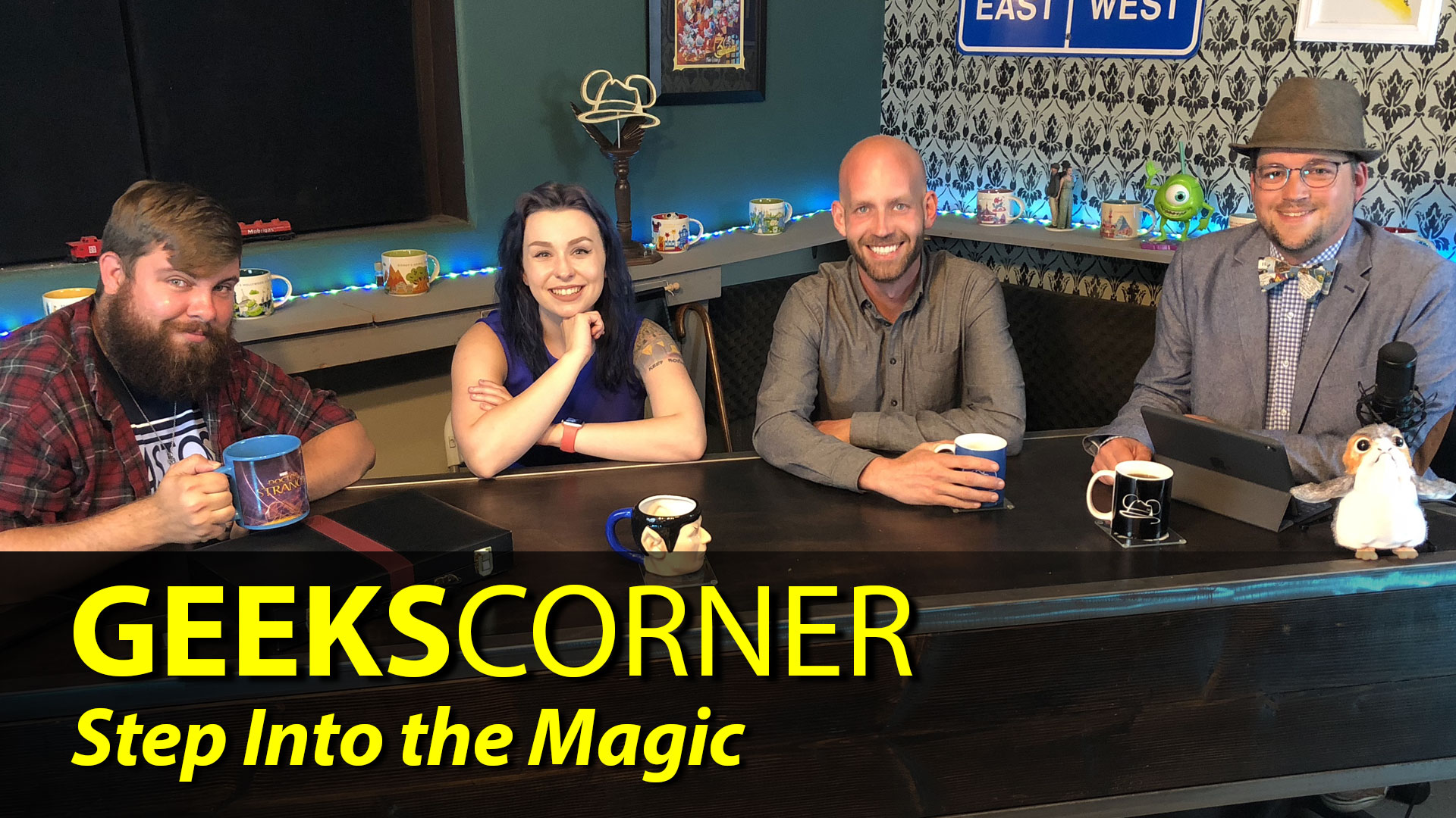 Step Into the Magic – GEEKS CORNER (With Special Guest Bret Iwan) – Episode 830