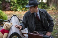 Christopher Robin (Ewan McGregor) with his longtime friend Winnie the Pooh in Disney's CHRISTOPHER ROBIN.