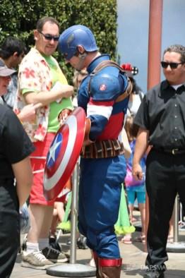 Captain America New Uniform at Disneyland-2