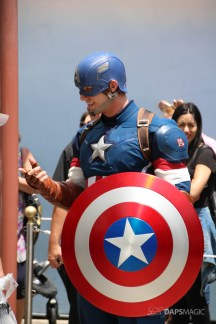 Captain America New Uniform at Disneyland-5